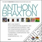 Compl.remastering record. cd musicale di Anthony braxton (8 c