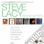 Solos duos trios cd musicale di Steve lacy (6 cd)