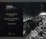 Across virtuosity [cd + dvd] cd musicale di Yos Meloni fabrizio