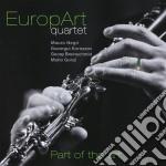 Europart Quartet - Part Of The Art cd musicale di Quartet Europart