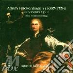 6 sonatras op.1 cd musicale di Falckenhagen