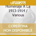 Homenaje A La 1913-1914 cd musicale di 5TETO CRIOLLO EL ALE