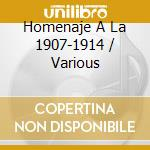 Homenaje A La 1907-1914 cd musicale di CENTENARIO & ATLANTA