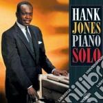 Hank Jones - Piano Solo cd musicale di Jones Hank