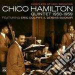 COMPL.STUDIO SESS.1958-59 cd musicale di CHICO HAMILTON QUINT