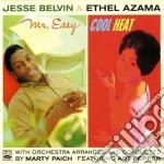 Jesse Belvin/ethel Azama - Mr.easy/cool Heat cd musicale di Jesse belvin/ethel a