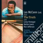 Les Mccann - Plays The Truth cd musicale di Les Mccann