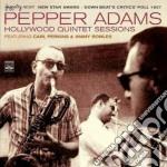 Pepper Adams - Hollywood Quintet Session cd musicale di ADAMS PEPPER