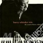 Harry Whitaker Trio - The Sound Of... cd musicale di WHITAKER HARRY TRIO