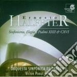 Halffter Ernesto - Sinfonietta, Elegia, Salmi Xxii E Cxvii cd musicale