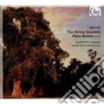 Quartetti per archi (integrale), quintet cd musicale di Johannes Brahms