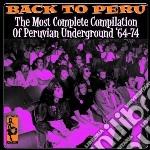 BACK TO PERU                              cd musicale di Artisti Vari