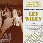 MANHATTAN NIGHTS cd musicale di LEE WILEY (4 CD)