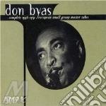 1946-'51 european small cd musicale di Don byas (3 cd)