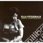 Ella Fitzgerald - Complete 1940 Nbc Broadcasts cd musicale di ELLA FITZGERALD
