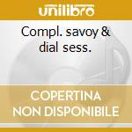 Compl. savoy & dial sess. cd musicale di Charlie Parker