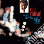 Torme' Mel - The Art Pepper - Marty Paich Sessions cd musicale di Mel Torme'