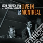 Peterson / Brown / Hayes - Live In Montreal 1965 cd musicale di Peterson brown hay
