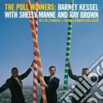 Kessel Barney, Manne Shelly, Brown Ray - The Poll Winners + The Poll Winners Ride Again cd musicale di Manne Kessel barney