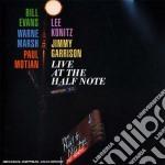 Bill Evans / Lee Konitz - Live At The Half Note cd musicale di Marsh wa Evans bill
