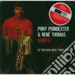 Poindexter / Thomas - At The Blue Note, Paris 1964 cd musicale di Tho Poindexter pony