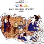 Dave Brubeck - Jazz Impressions Of The U.s.a. cd musicale di Brubeck dave quartet