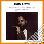John Lewis - Improvised Meditations & Excursions cd musicale di John Lewis