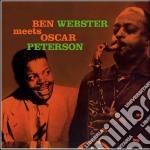 (LP VINILE) MEETS OSCAR PETERSON - LP 180 GR.         lp vinile di Peterson Webster b