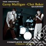Gerry Mulligan / Chet Baker - Complete Recordings Master Takes cd musicale di Bake Mulligan gerry