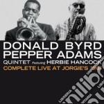 Donald Byrd / Pepper Adams - Complete Live At Jorgie's 1961 cd musicale di Adams p Byrd donald