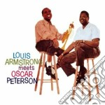 Louis armstrong meets oscar peterson cd musicale di Pet Armstrong louis