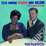 Ella Fitzgerald - Ella Swings Brightly With Nelson cd musicale di Ella Fitzgerald