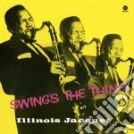 (LP VINILE) Swing's the thing [lp] lp vinile di Illinois Jacquet