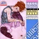 Zemlinsky Alexander Von - Gesange Fur Eine Mittlere N.1 > N.6 Op.13  - Neumann Vaclav Dir  /hedwig Fassbender M-sop, Orchestra Filarmonica Ceca cd musicale di Alexander Zemlinsky