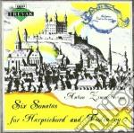 Zimmermann Bernd Alois - Sonata X Clav E Vl N.1 > N.6 Op.2  - Ruso Daniela  Pf/kucharsky Boris Vl. cd musicale di ZIMMERMANN BERND ALO