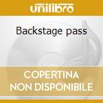 Backstage pass cd musicale