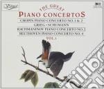 CONCERTO PER PIANO N.1 OP.11, N.2 OP.21 cd musicale di Fryderyk Chopin