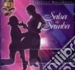 Salsa & samba cd musicale di Double gold (2cd)