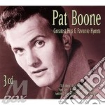 GREATEST HITS & FAVOURITE HYMNS/3CD cd musicale di BOONE PAT