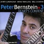 Peter Bernstein - Heart's Content cd musicale di BERNSTEIN PETER