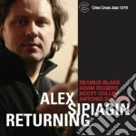 Alex Spiagin - Returning cd musicale di SPIAGGIN ALEX