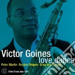 Victor Goines - Love Dance cd musicale di GOINES VICTOR