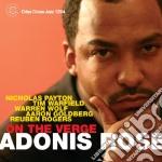 Adonis Rose - On The Verge cd musicale di ADONIS ROSE