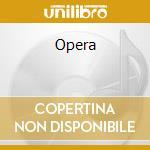 Opera cd musicale