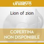 Lion of zion cd musicale di Bob Marley