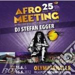 Afro meeting 25th ed. 1988/2012 cd musicale di Dj stefan egger