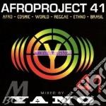 Afroproject 41 cd musicale di Dj Yano