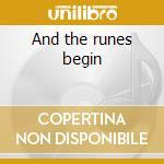 And the runes begin cd musicale di Pandemonium