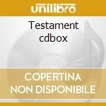Testament cdbox cd musicale