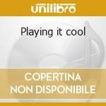 Playing it cool cd musicale di Keith Hudson